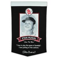 MLB St. Louis Cardinals Stan Musial Iconic Banner