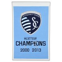 MLS Sporting Kansas City Cup Champions Banner