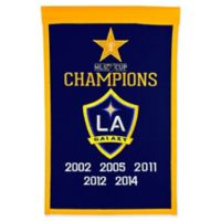 MLS Los Angeles Galaxy Cup Champions Banner