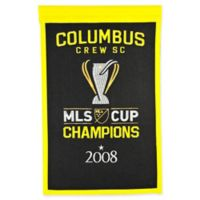 MLS Columbus Crew Cup Champions Banner