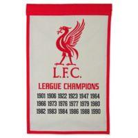 Liverpool FC Champions Banner