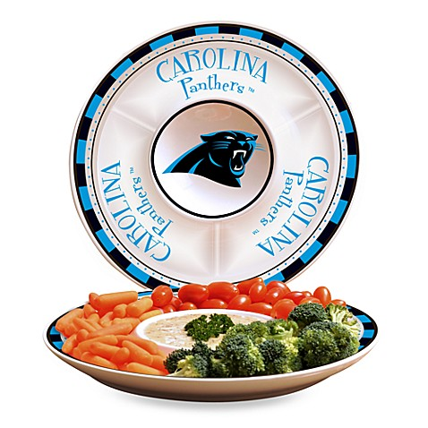NFL Carolina Panthers Game Day Chip and Dip Server