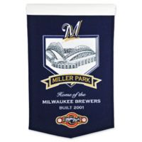 MLB Milwaukee Brewers Miller Park Stadium Banner