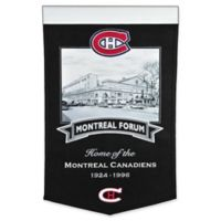 NHL Montreal Canadiens Iconic Venue Banner