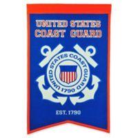United States Coast Guard Badge Banner