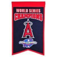 MLB Los Angeles Angels World Series Champions Banner