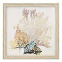 Corals & Shells Multicolor Wall Art