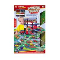 Lucky Toys 47-Piece Parking Lot Play Set