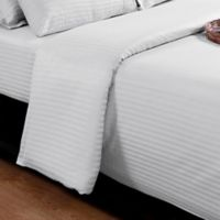 Millano Collection® Silverclear 250-Thread-Count King Flat Sheet in White