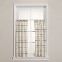 Homewear Linens Corsica Window Curtain Pair in Indigo
