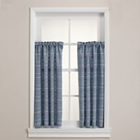 Homewear Linens Corsica Window Curtain Pair in Blue