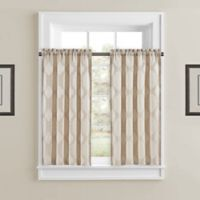 J. Queen New York™ Soho 45-Inch Window Curtain Pair in Champagne