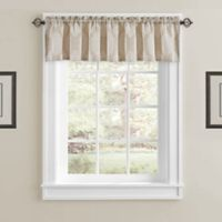 J. Queen New York™ Soho Window Valance in Champagne