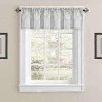 J. Queen New York™ Soho Window Valance in Silver