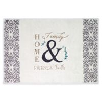 "Avanti Modern Farmhouse 20"" x 30"" Bath Rug"