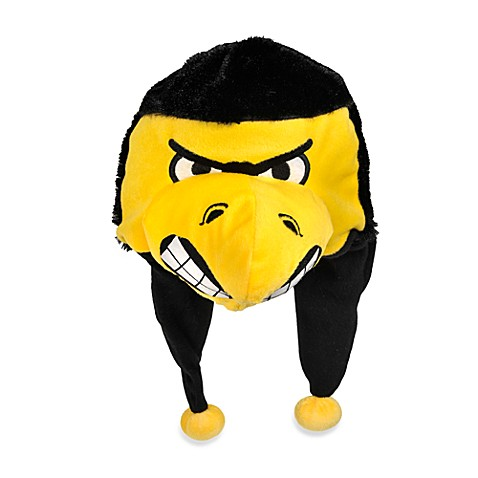 University of Iowa Mascot-Themed Dangle Hat