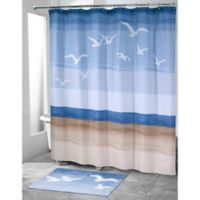 Avanti Seagulls Stall 72-Inch 84-Inch Shower Curtain