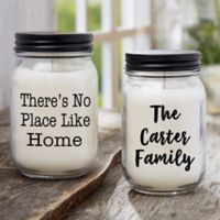 Write Your Own Expressions Personalized Farmhouse Candle Jar