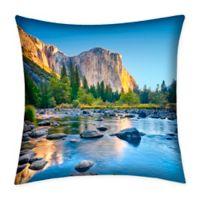 Destination Summer Yosemite Indoor/Outdoor Square Throw Pillow