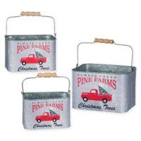 Pine Farm Buckets (Set of 3)
