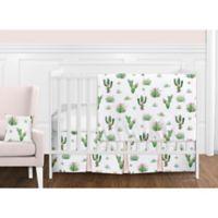 Sweet Jojo Designs Cactus Floral 11-Piece Crib Bedding Set