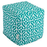 Majestic Home Goods™ Polyester Aruba Ottoman in Pacific