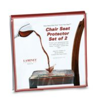 Clear Chair Seat Protectors (Set of 2)