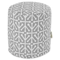 Majestic Home Goods™ Polyester Aruba Ottoman in Gray