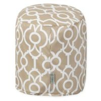 Majestic Home Goods™ Polyester Athens Ottoman in Sand