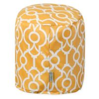 Majestic Home Goods™ Polyester Athens Ottoman in Citrus