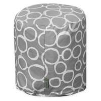 Majestic Home Goods™ Cotton Fusion Ottoman in Gray