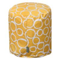 Majestic Home Goods™ Cotton Fusion Ottoman in Yellow
