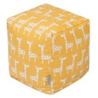 Majestic Home Goods™ Cotton Stretch Ottoman in Yellow