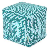 Majestic Home Goods™ Polyester Towers Ottoman in Pacific