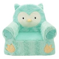 Sweet Seats® Owl Children's Chair in Teal