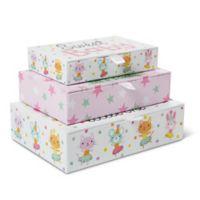 Little Me® Baby Animals 3-Piece Storage Box Set