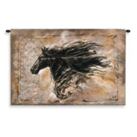 Pure Country Black Beauty Tapestry - 53-Inch x 35-Inch