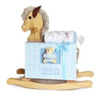 Silly Phillie® Creations 2-Piece Rocking Horse Baby Boy Gift Set