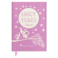 Early Years Journal in Pink/Cream