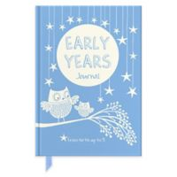 Early Years Journal in Blue/Cream