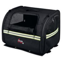 Trixie Pet Products Friends On Tour Bike Pet Bag in Black