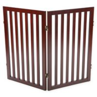 Trixie Pet Products 24-Inch 2-Panel Pet Gate Extension Kit in Brown