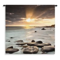 Pure Country Nordic Sunset 31-Inch x 31-Inch Tapestry
