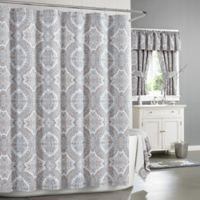 J. Queen New York™ Colette 72-Inch x 96-Inhc Shower Curtain in Blue