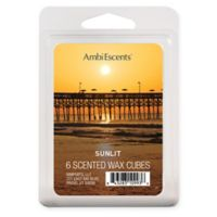 AmbiEscents™ 6-Pack Sunlit Cream Scented Wax Cubes