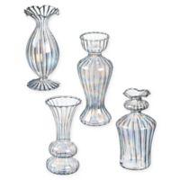 Iridescent Glass Mini Bud Vases (Set of 4)