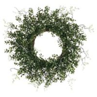 24-Inch Artificial Boxwood Wreath