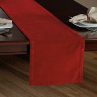 Holiday Velvet 90-Inch Table Runner in Red