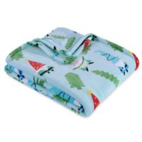 Berkshire Blanket® Holiday Gnomes Throw Blanket in Blue