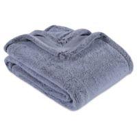 Berkshire Blanket® Frosted PrimaLush Throw Blanket in Grey